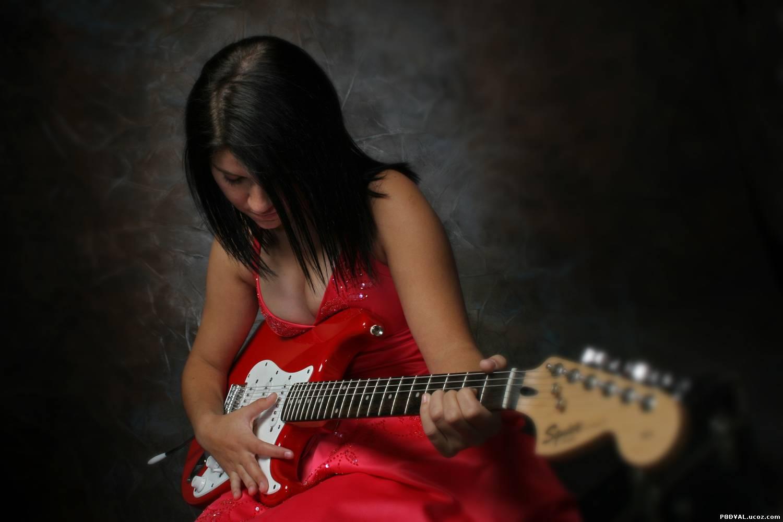 Гитарой девушками знакомство с